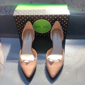 New Kelly & Katie Taupe pumps